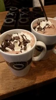Best hot chocolate/Melhor chocolate quente